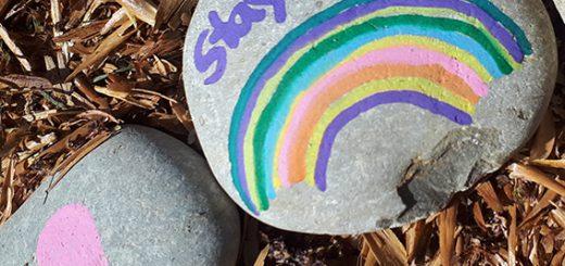 Steinschlange an den Glonnterrassen. Foto: T. Nowak